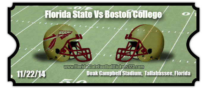 Florida state seminoles vs boston college eagles football tickets